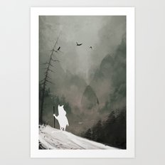 Buka - God Of Winter Art Print