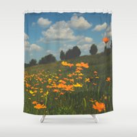 Dreaming In A Summer Fie… Shower Curtain