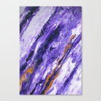 Chevron Amethyst 2 Canvas Print