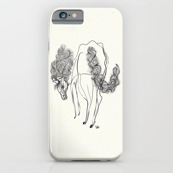 White horse iPhone & iPod Case