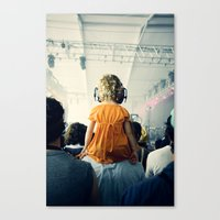 LuLu at Bon Iver Canvas Print