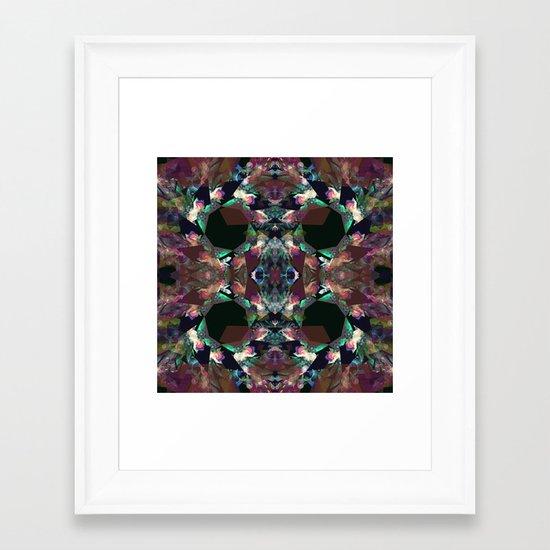 Kalido Negative Framed Art Print