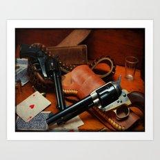 45 Colt Art Print