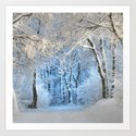 Another winter wonderland Art Print