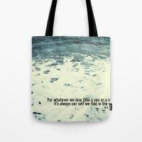 You Sea Me Tote Bag