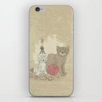 Naughty Cats iPhone & iPod Skin