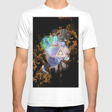 What Went Before Part 3 SMALL Mens Fitted Tee White