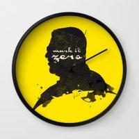 Mark It Zero –Walter… Wall Clock
