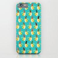Anna Banana On Blue iPhone 6 Slim Case