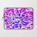 Pink & Purple Love Laptop Sleeve