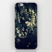 Bubbles BW iPhone & iPod Skin