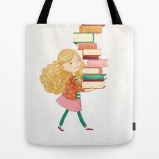 Library Girl 2 Tote Bag