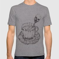 AS TEA Mens Fitted Tee Athletic Grey SMALL