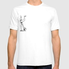 A Colorful Fuck™ White Mens Fitted Tee SMALL