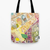 old grandma Tote Bag