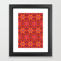 Kaleidoscope Number 1 Framed Art Print