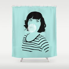 Bubblegum Shower Curtain