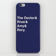 Doctor& iPhone & iPod Skin