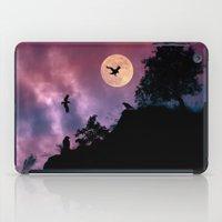 Crow meeting iPad Case