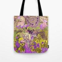 Garden Pansy Tote Bag