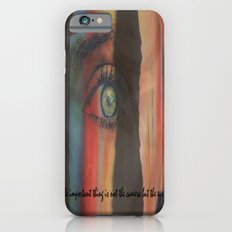 The Important Thing is Not the Camera but the EYE iPhone 6 Slim Case