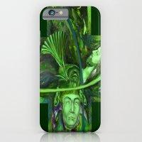 Religion green iPhone 6 Slim Case