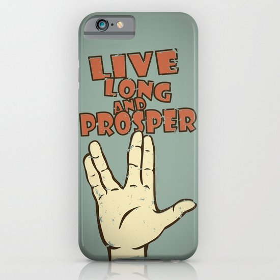 LIVE LONG AND PROSPER! - Star Trek iPhone & iPod Case