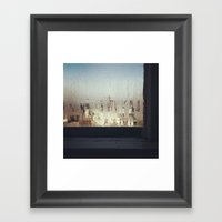 The Window Sill Framed Art Print