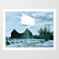 The Harshness Of Winter Art Print