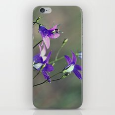 BlueBell Flower Nature Photography  iPhone & iPod Skin