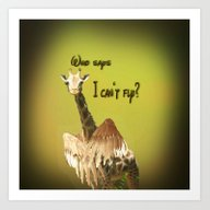 Art Print featuring Who Says? by Lucia