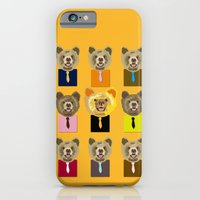 iPhone & iPod Case featuring Little bear with tie by Caracheng