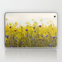 Yellow Wildflowers Laptop & iPad Skin