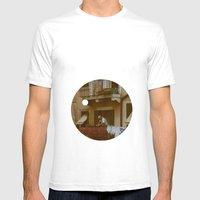 Italian Style Mens Fitted Tee White SMALL
