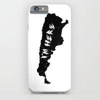 I'm Here Argentine iPhone 6 Slim Case