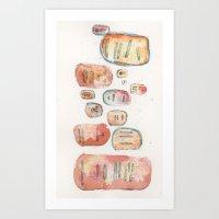 division : 01 Art Print