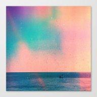 The Big Sea Canvas Print