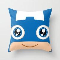 Adorable Captain Throw Pillow