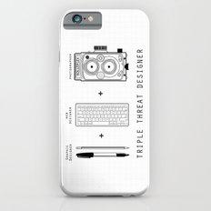 Triple Threat Designer iPhone 6s Slim Case