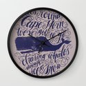 Cape Horn Wall Clock