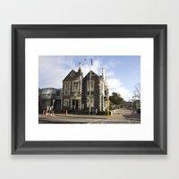 Christchurch NZ Framed Art Print