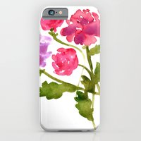 iPhone & iPod Case featuring Floral No. 1 by Reneé Leigh Stephenson