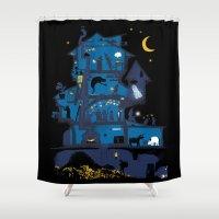 Wizard's Castle Shower Curtain