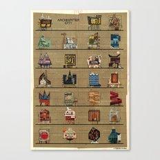 ARCHIWRITER_city Canvas Print