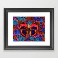 Caterflies Framed Art Print