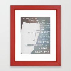 Dylan's Song for Woody Framed Art Print