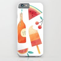 iPhone & iPod Case featuring Summatime by emilydove