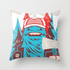 Cornelius : Lumberjack Throw Pillow