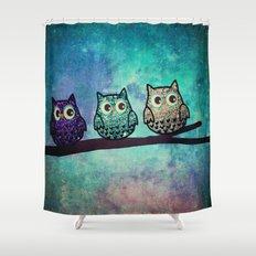 owl-104 Shower Curtain
