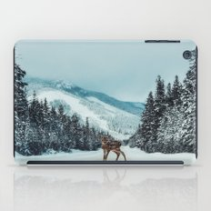 Deer in the headlights iPad Case